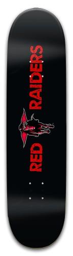 Red Raiders Park Skateboard 8 x 31.775