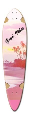 ryan longboard 6 Dart Skateboard Deck v2