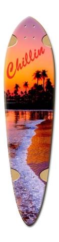 ryan longboard 9 Dart Skateboard Deck v2