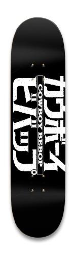 Cowboy Bebop Black Logo Park Skateboard 8.25 x 32.463