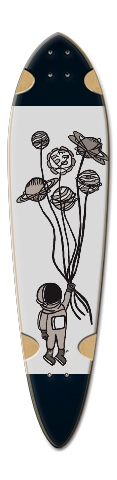 Dart Skateboard Deck v2 #223844
