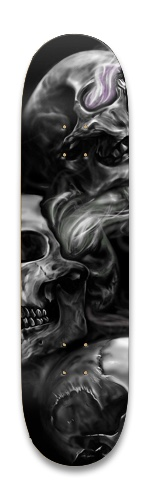 Hailey-SKULL Park Skateboard 8.25 x 32.463