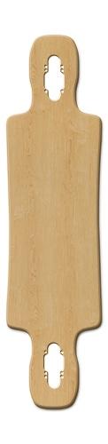 Gnarlier 38 Skateboard Deck v2 #240812