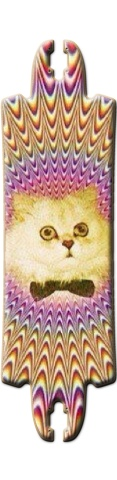 Trippy Cat FUBAR Drop Skateboard Deck