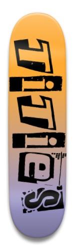tities Park Skateboard 8.5 x 32.463