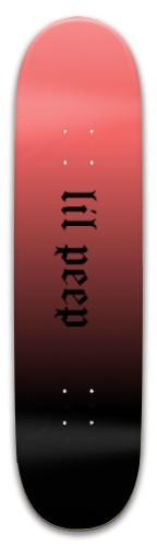 lil peep board Park Skateboard 8 x 31.775