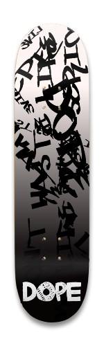 DOPE 8.25'' Graffiti Official Park Skateboard 8.25 x 32.463
