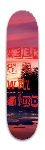 Seek&Find Park Skateboard 7.88 x 31.495
