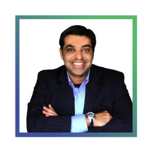 Dr. Nitin Chhoda :)) Sticker 4 x 4 Square
