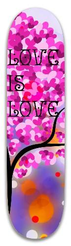LGBTQ love is love Park Skateboard 8 x 31.775