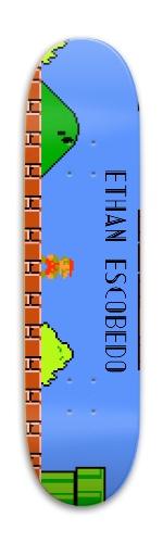 Ethan's Xmas Park Skateboard 7.88 x 31.495