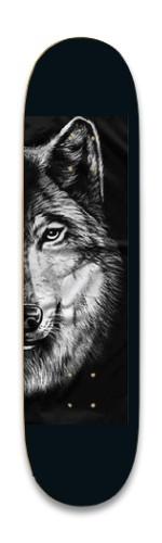 the sly wolf Park Skateboard 8.25 x 32.463