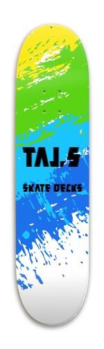 Taj,s Deck Park Skateboard 7.88 x 31.495