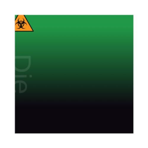 Sticker 4 x 4 Square #250589