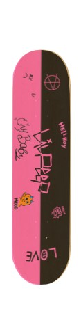 peepkins Skateboard 32.25 x 8.125