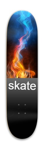 water or fire Park Skateboard 7.88 x 31.495