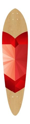 Dart Skateboard Deck v2 #251125