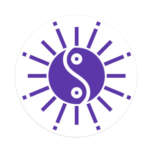 Sticker 4 x 4 Circle #251244
