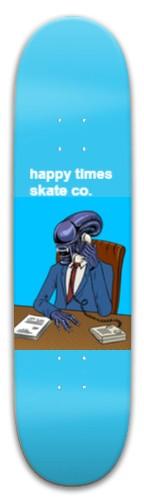 happy alien Park Skateboard 8 x 31.775
