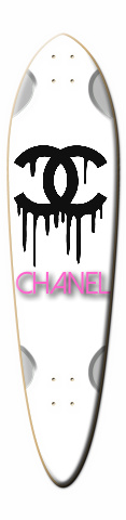 chanel Dart Skateboard Deck