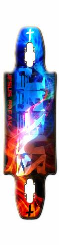 Gnar 35 Skateboard Deck #10254