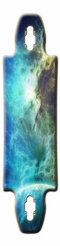 Aurora Moon Gnarliest 40 Skateboard Deck