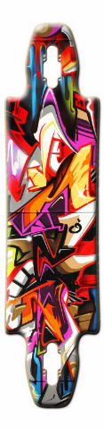 Gnarliest 40 Skateboard Deck #10539