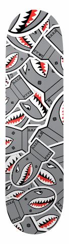 Banger Park Skateboard 8.25 x 31.75 #12581