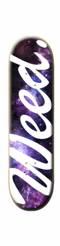 Weed Universe 8.0 Skateboard 31.7 x 8.0