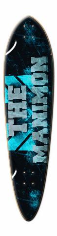 mani lonboard Dart Skateboard Deck