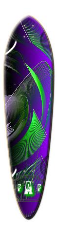 Dart Skateboard Deck #15002