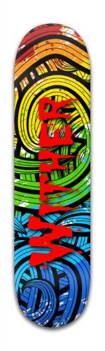 wither Banger Park Skateboard 8 x 31 3/4