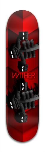 Minecraft Wither Banger Park Skateboard 8 x 31 3/4