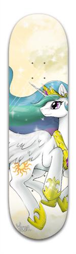 Princess Celestia Banger Park Skateboard 8.5 x 32 1/8