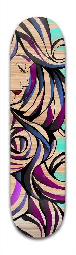 Siren's Sorrow Banger Park Skateboard 8 x 31 3/4