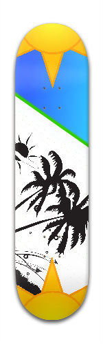 Chillin Park Skateboard 7 7/8 x 31 5/8