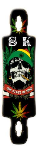 Rasta Skull Gnarliest 40 2015