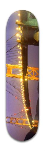 Golden Gate Bridge Banger Park Skateboard 8 x 31 3/4