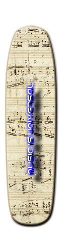 Custom Riviera Zia Stick Longboard 9.188 x 36 #93385