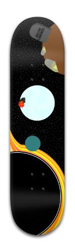 Interstellar Banger Park Skateboard 8 x 31 3/4