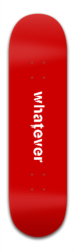 Whatever Banger Park Skateboard 8.5 x 32 1/8
