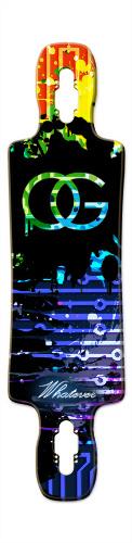 Gnarlier 38 Skateboard Deck v2 #117923