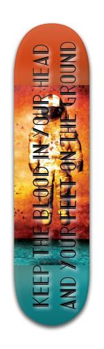 Banger Park Skateboard 8 x 31 3/4 #118222