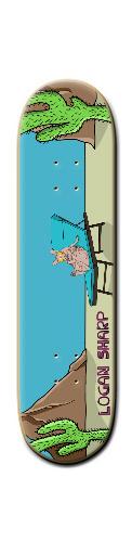 Banger Park Skateboard 8 1/4  x 32 #139106