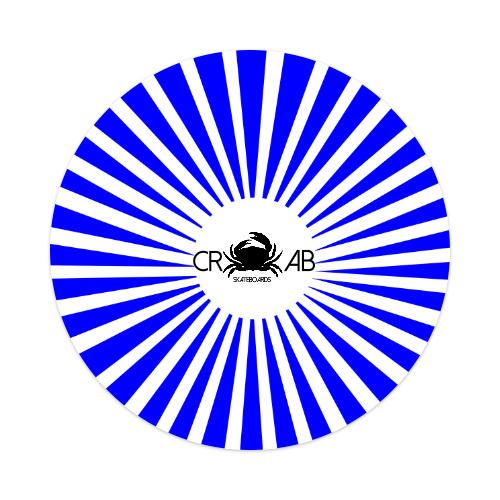 Sticker 4 x 4 Circle #187227