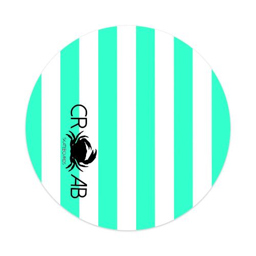 Sticker 4 x 4 Circle #187437