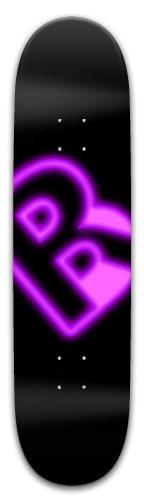 PurpleNeon Park Skateboard 8 x 31.775