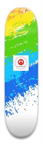 splater sk8 Park Skateboard 8.5 x 32.463