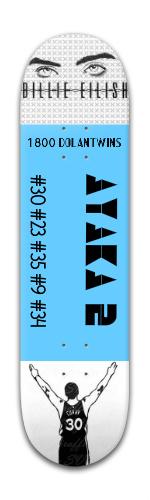 Banger Park Skateboard 8 x 31 3/4 #197242