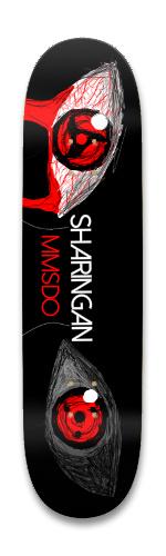 MMSDO SHARINGAN Park Skateboard 8.25 x 32.463